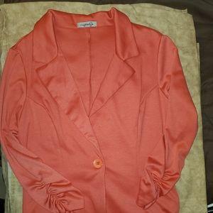 Imagenation Pink/Coral Blazer